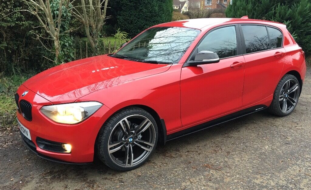 stunning 2012 bmw 1 series sport f20 39 m performance pack 39 in omagh county tyrone gumtree. Black Bedroom Furniture Sets. Home Design Ideas