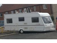 Lunar Lexon EB 2001 4 berth, with full size high quality awning and remote motor mover.