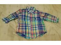 Ralph Lauren shirt 6 months old