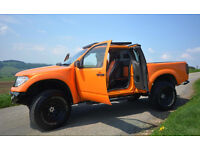 NISSAN NAVARA DCI ORANGE