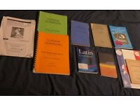GCSE and ALevel Latin books £ 4 For all