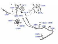 Hyundai H100 Accelerator Cable 327404B910