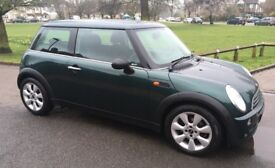 2005 AUTOMATIC MINI ONE VERY LOW MILEAGE SERVICE HISTORY AIR CONDITIONING MINI ONE AUTO