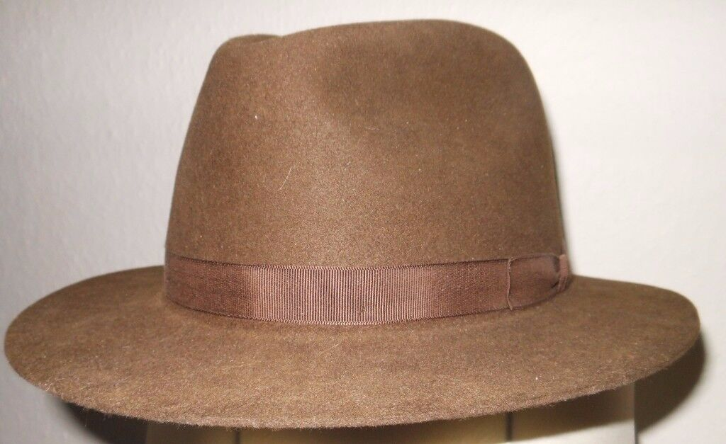 Vintage Gents Fedora/Trilby by Gieves & Hawkes - Sable Colour