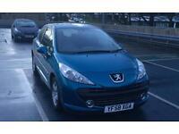 Peugeot 207 1.4 s low miles 65k 2009(58reg) facelift model
