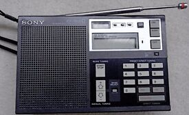 SONY VINTAGE WORLD BAND RADIO ICF-7600D all band receiver including ssb