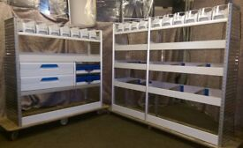 Sortimo Globelyst M Van racking, van shelving, drawers, lin bins, service cases