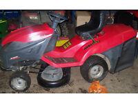 Ride on mower castelgarden honda engine