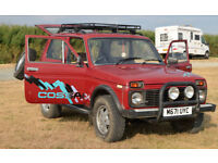Lada Niva Cossack 4x4 off road vehicle