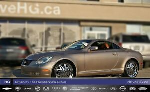2002 Lexus SC 430 Navigation| LOW KM| Mark Levinson