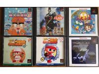 Japanese PlayStation Games NTSC-J