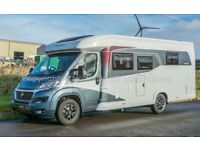 New - Hobby Optima T70F Deluxe, Fiat 2.3, 4 Berth Low Profile Motorhome, Fixed Bed, Fully Loaded.