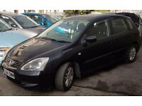 Honda Civic 54. 1.4 .12mths mot. 5 door hatchback. In black.