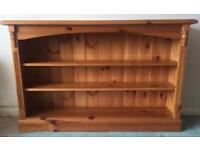 Pine Bookcase/Display Unit