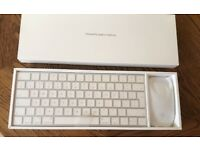Apple wireless keyboard and mouse bundle