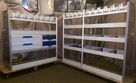 Sortimo Globelyst M Van racking, van shelving, drawers, lin bins, service cases