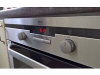 AEG fan oven and grill built-in cooker £35 because the rear element is not working