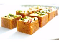 Indian Chef with experience in sweets/mithai