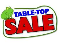 Sack house Table top and plant sale 4th june Sunday