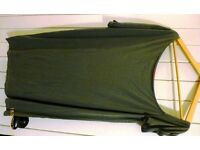 Boohoo Olive Green womens top for sale