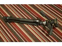 Manfrotto MK190XPROB Tripod + 3-Way Head / for photography