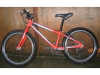 Islabike Beinn 20 large in red. Well used but loved and looked after