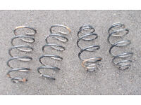 full set of renault clio springs **** JUST REDUCED ****again
