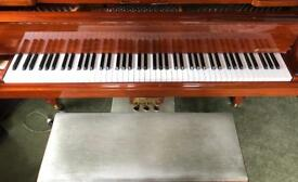 Samick SG147 Grand Piano with cabriole legs and matching duet stool DELIVERY OPTIONS