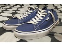 Men's Size 10 Blue Vans