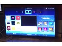 "55"" SMART 3D LED WIFI TOSHIBA TV CAN DELIVER."