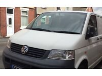 VW transporter T5 bonnet in white good used condition