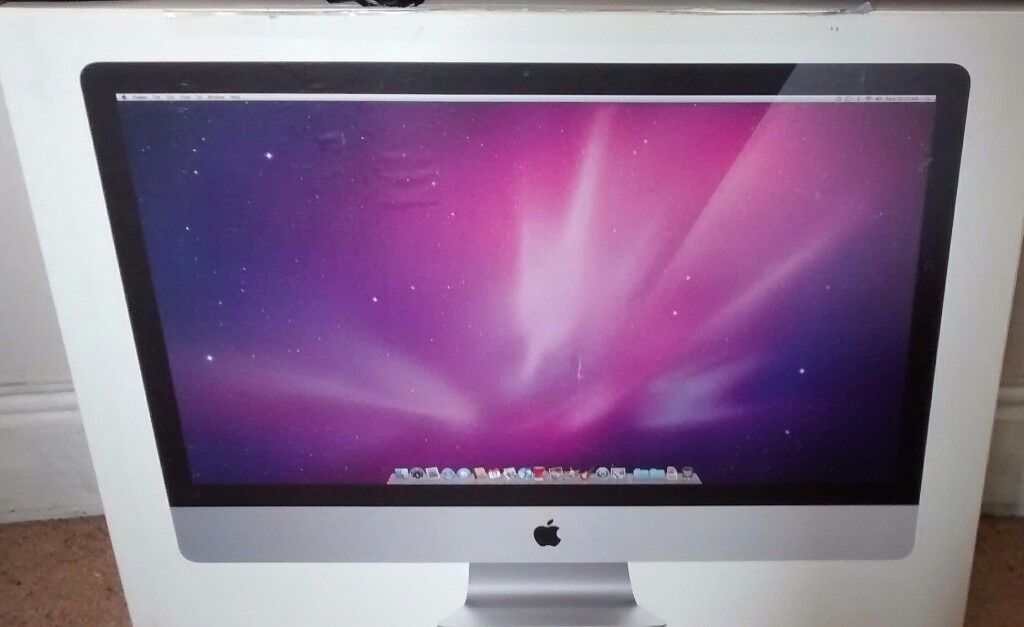 "Apple iMac ""Core i3"" 3.2 27 Inch (Mid 2010in Wallasey, MerseysideGumtree - Hello, I am selling my grand fathers much loved, but under used Apple iMac. The description is as follows, which I have copied from its original packaging, which it will be boxed in on collection. 27 inch viewable 16 9 widescreen LED backlit display;..."