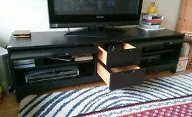 IKEA Black TV Table