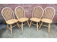 Pine Chairs.. £11.25 Each