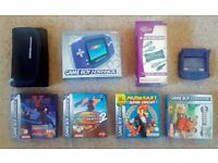 Gameboy Advance Bundle - Excellent Condition - Great Christmas Present