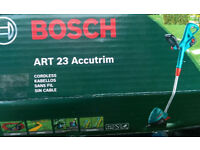 GRASS TRIMMER - BOSCH ACCUTRIM ART 23 - 18 VOLT CORDLESS