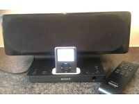 Sony SRSGU10IP 2 Ch iPod & iPhone Docking Speaker Active Speaker System