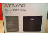 Table Top Fridge AMBIANO – BRAND NEW Boxed