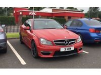 Mercedes C63 coupe 2013 29k Full mercedes service history