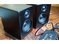 Audioengine A2 Active Speakers - Satin Black