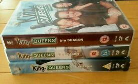 King of Queens, Bargin 3 Boxed Season Sets on Dvd Region 2 ...