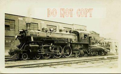 6F722 RP 1940s/50s CANADIAN PACIFIC RAILROAD LOCO #2223
