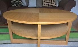 Ikea coffee table - Oak 'Vejmon'. Perfect condition.