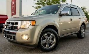 2010 Ford Escape LIMITED, V6, AWD, LEATHER, SUNROOF