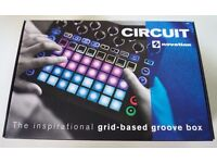 Novation Circuit Synth /Drum machine Groovebox. Original Box/Packaging