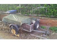 Car trailer galvanised steel!