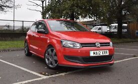 Volkswagen Polo 12 REG 1.2 3dr, 1.5 years RAC full warranty, amazing condition, upgraded suspension