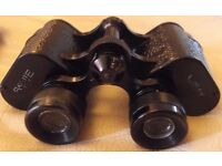 """Wray (London) """"RAYLITE"""" Classic Post war 8x30 binoculars. Excellent quality."""