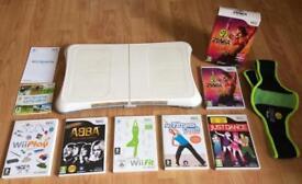 Nintendo Wii Balance Board Wii Sports Play Zumba Wii Fit Abba Dance