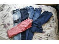 Jeans joblot size 10